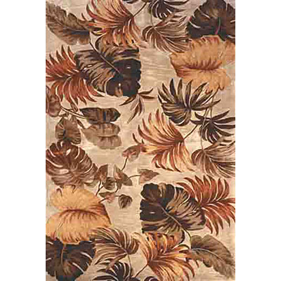 KAS Oriental Rugs. Inc. Sparta 4 x 6 Sparta Beige Palm Leaves 3148
