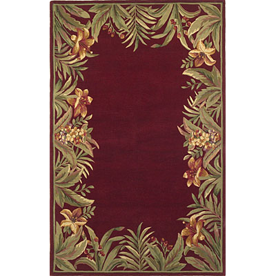 KAS Oriental Rugs. Inc. Sparta 8 Round Sparta Red Rainforest 3150