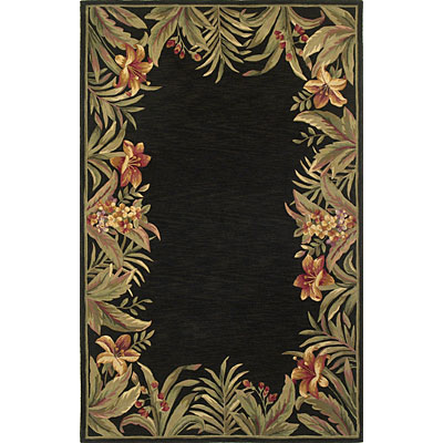 KAS Oriental Rugs. Inc. Sparta 8 Round Sparta Black Rainforest 3152