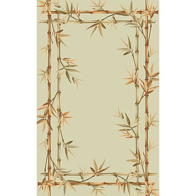 KAS Oriental Rugs. Inc. Sparta 9 x 12 Sparta Sage Bamboo Double Border 3161