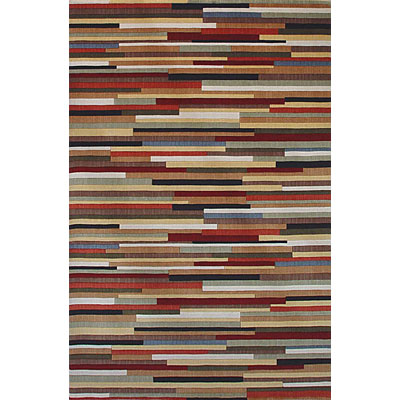 KAS Oriental Rugs. Inc. Tate 2 x 3 Tate Multicolor Stripes 8507