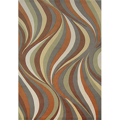KAS Oriental Rugs. Inc. Tate 2 x 3 Tate Earthtone Waves 8515