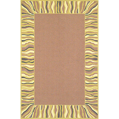 KAS Oriental Rugs. Inc. Veranda 5 x 8 Veranda Coffee/Gold Showplace 1373