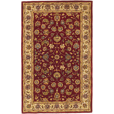KAS Oriental Rugs. Inc. Vienna 3 x 5 Vienna Red/Beige All-over Kashan 8813