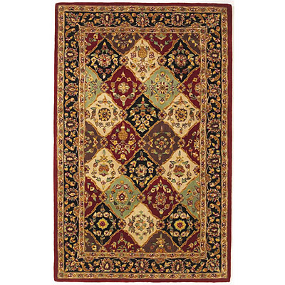 KAS Oriental Rugs. Inc. Vienna 3 x 5 Vienna Multi/Red Panel 8817
