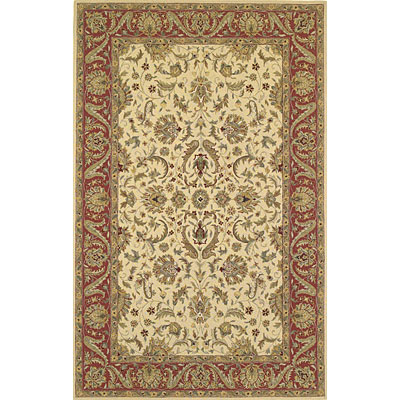 KAS Oriental Rugs. Inc. Winslow 2 x 4 Winslow Ivory/Rust Allover Mahal 1910