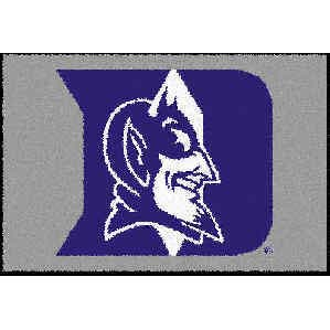 Logo Rugs Duke University Duke Entry Mat 2 x 2 DUEM1