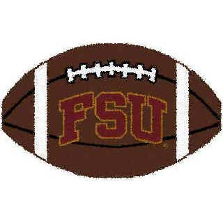 Logo Rugs Florida State University Florida State Football 2 x 2 FSFB