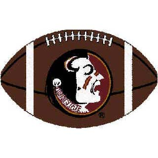 Logo Rugs Florida State University Florida State Football 3 x 6 FSFB2