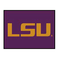 Logo Rugs LSU University LSU Entry Mat 2 x 2 LSEM3
