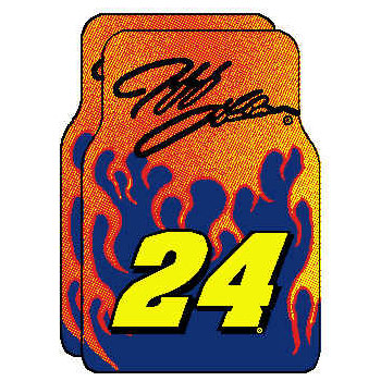 Logo Rugs Jeff Gordon Jeff Gordon Car Mat JG24FM4
