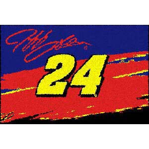 Logo Rugs Jeff Gordon Jeff Gordon Entry Mat 18 x 24 JG24E1