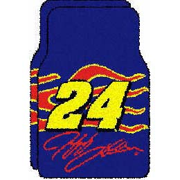 Logo Rugs Jeff Gordon Jeff Gordon Car Mat JG24FM3