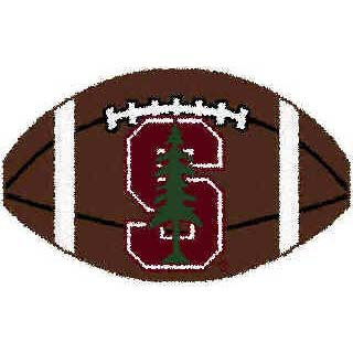 Logo Rugs Stanford University Stanford Football 15 x 24 STFB