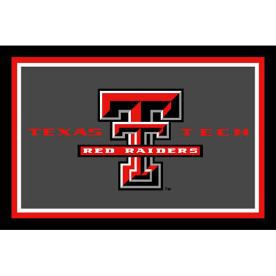 Logo Rugs Texas Tech University Texas Tech Area Rug 4 x 6 TTAR4