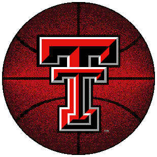 Logo Rugs Texas Tech University Texas Tech Basketball 4 ft TTBB2