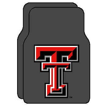 Logo Rugs Texas Tech University Texas Tech Car Mat TTFM1