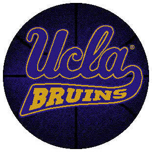 Logo Rugs UCLA University UCLA Basketball 4 ft UCLABB2