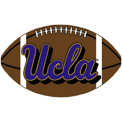 Logo Rugs UCLA University UCLA Football 3 x 6 UCLAFB2