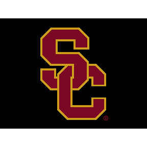 Logo Rugs USC University USC Entry Mat 2 x 2 USCEM1