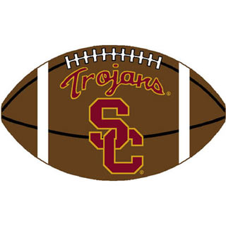 Logo Rugs USC University USC Football 3 x 6 USCFB2