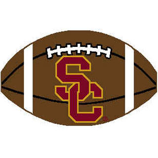 Logo Rugs USC University USC Football 2 x 2 USCFB