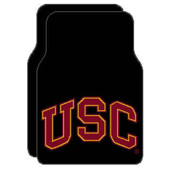 Logo Rugs USC University USC Car Mat USCFM1