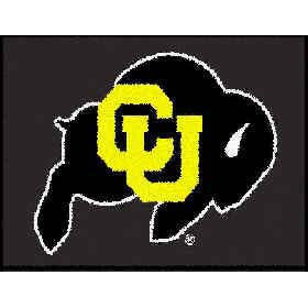 Logo Rugs Colorado University Colorado Entry Mat 2 x 2 UCEM1