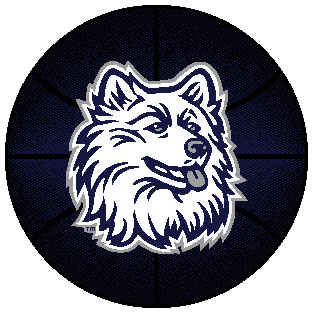 Logo Rugs Connecticut University Connecticut Basketball 24 CTBBS