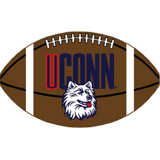 Logo Rugs Connecticut University Connecticut Football 3 x 6 CTFBL