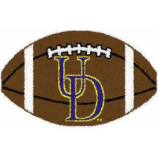 Logo Rugs Delaware University Delaware Football 15 x 24 DEFB
