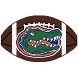 Logo Rugs Florida University Florida Football 2 x 2 FLFB