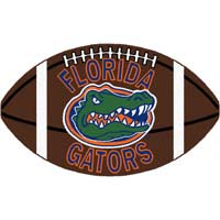 Logo Rugs Florida University Florida Football 3 x 6 FLFB2