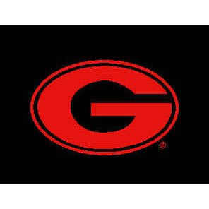 Logo Rugs Georgia University Georgia Entry Mat 2 x 2 GAEM1