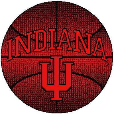 Logo Rugs Indiana University Indiana Basketball 4 ft INBB2