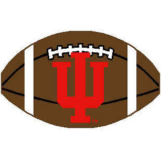 Logo Rugs Indiana University Indiana Football 2 x 2 INFB
