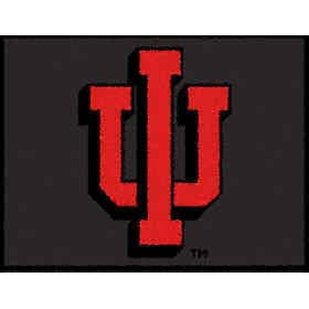 Logo Rugs Indiana University Indiana Entry Mat 2 x 2 INEM1