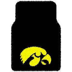 Logo Rugs Iowa University Iowa Car Mat IOFM2