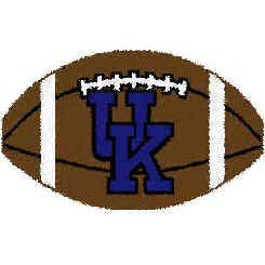 Logo Rugs Kentucky University Kentucky Football 15 x 24 UKFB