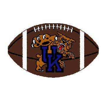 Logo Rugs Kentucky University Kentucky Football 3 x 6 UKFB2