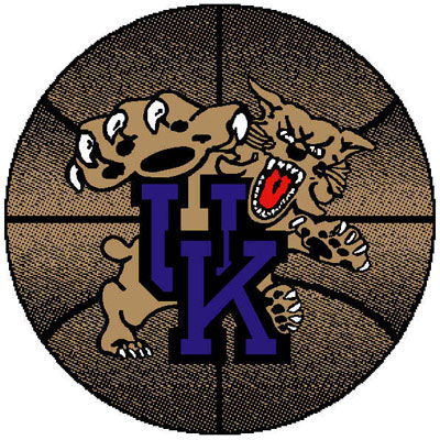 Logo Rugs Kentucky University Kentucky Basketball 4 ft UKBB2