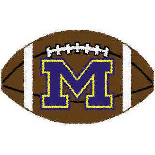 Logo Rugs Michigan University Michigan Football 3 x 6 MIFB2