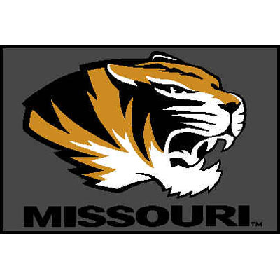 Logo Rugs Missouri University Missouri Entry Mat 2 x 2 MOEM1