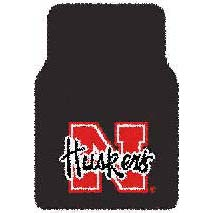 Logo Rugs Nebraska University Nebraska Car Mat NEFM2