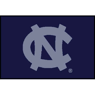 Logo Rugs North Carolina University North Carolina Entry Mat 2 x 2 NCEM3