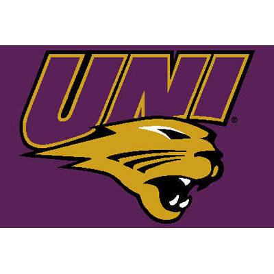 Logo Rugs Northern Iowa University Northern Iowa Entry Mat 2 x 2 NIEM1