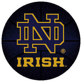 Logo Rugs Notre Dame University Notre Dame Basketball 4 ft NDBB2