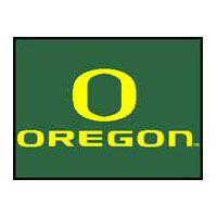 Logo Rugs Oregon University Oregon Entry Mat 2 x 2 OREM1