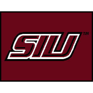 Logo Rugs Southern Illinois University Souther Illinois Entry Mat 2 x 2 SIEMSIU
