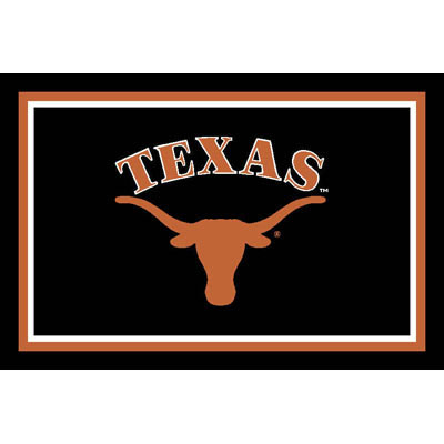 Logo Rugs Texas University Texas Area Rug 3 x 5 TXAR3